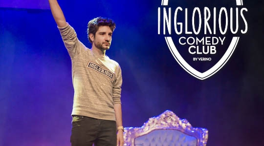 Vérino Inglorious Comedy club