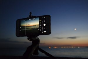photographie smartphone night